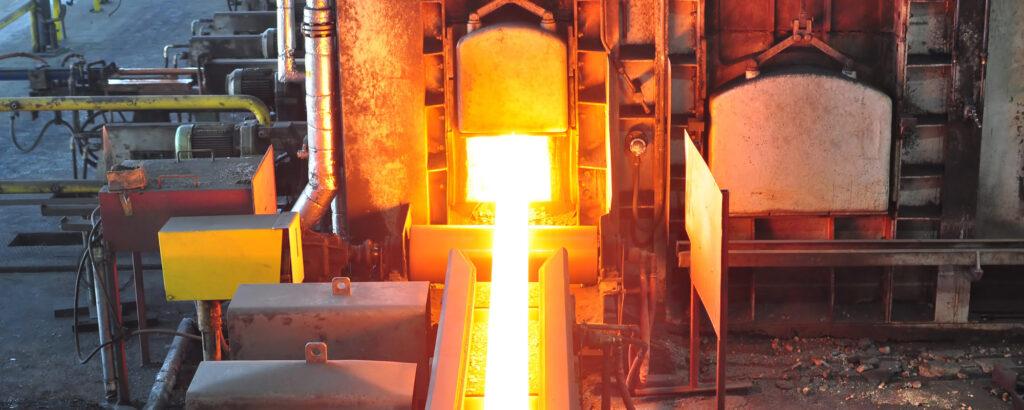 Industriële hoge temperatuur processen