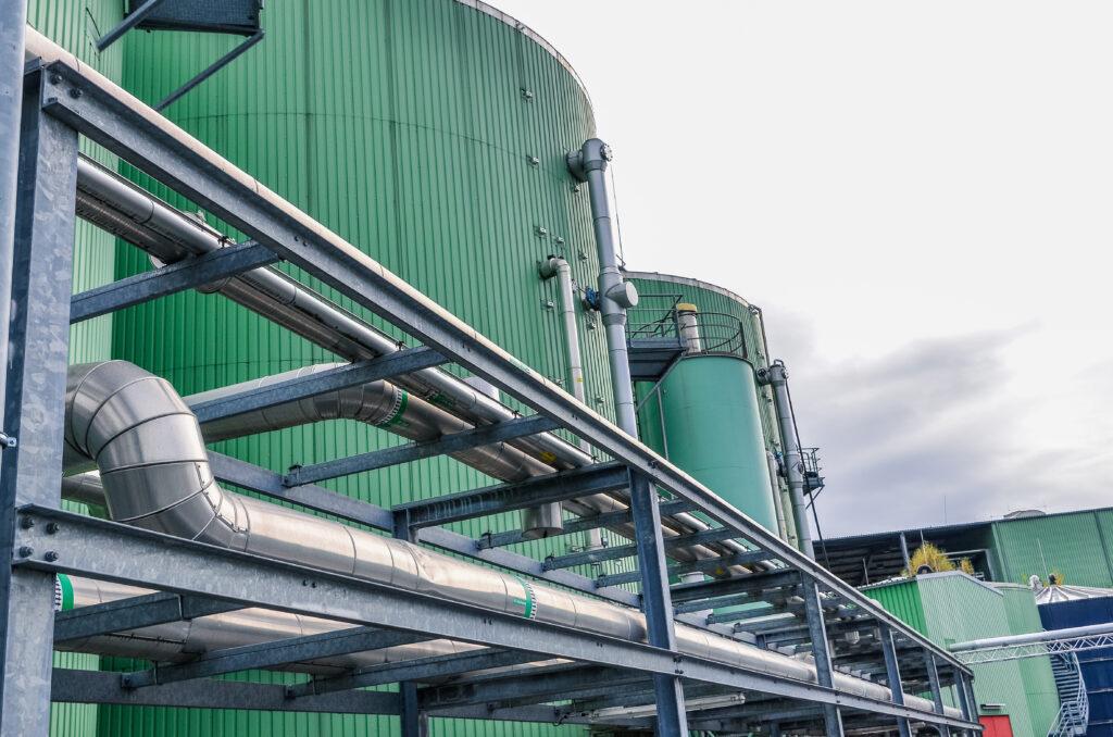 Biogas drogen