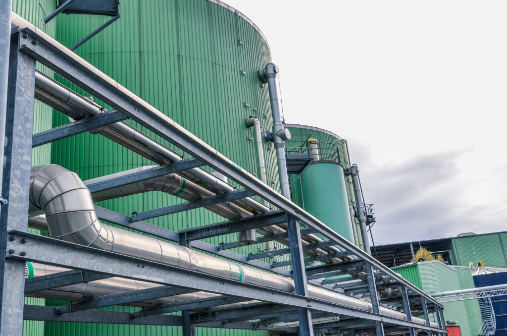 Biogasbranders